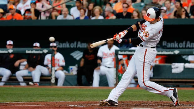 Orioles tie franchise record with eight home runs against Phillies IMAGE