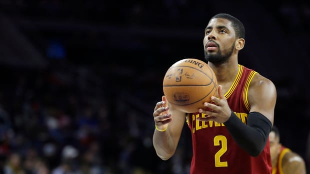 Cavaliers guard Kyrie Irving to have MRI on shoulder