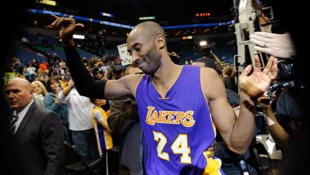 "Kobe Bryant: ""I'm a Laker for life"" -- IMAGE"