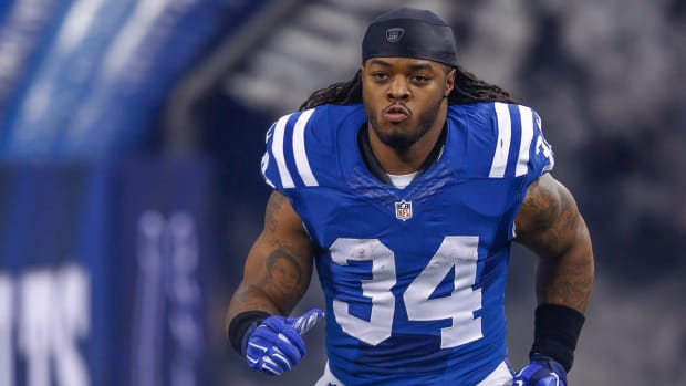 Trent Richardson not traveling to New England for AFC title game - image