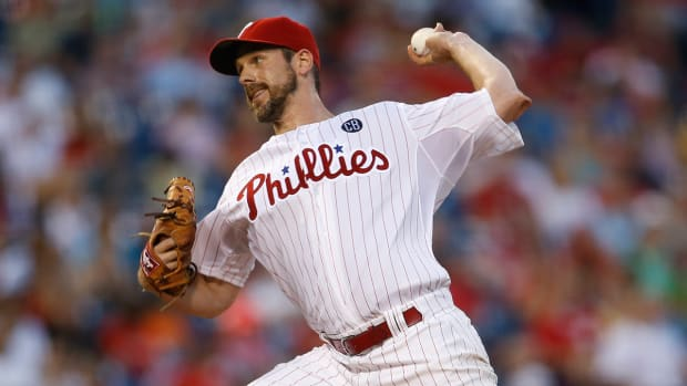 Phillies place Cliff Lee on 60-day DL IMAGE