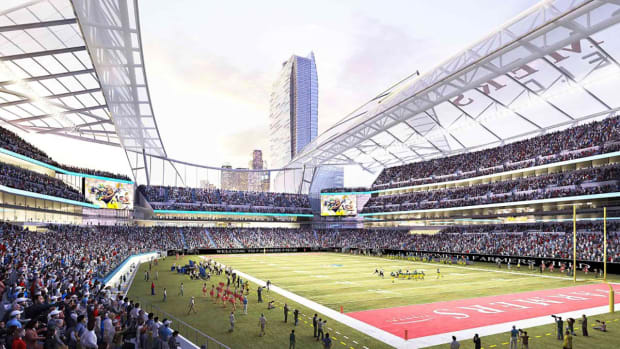 AEG abandons plan for NFL stadium in L.A.  IMAGE