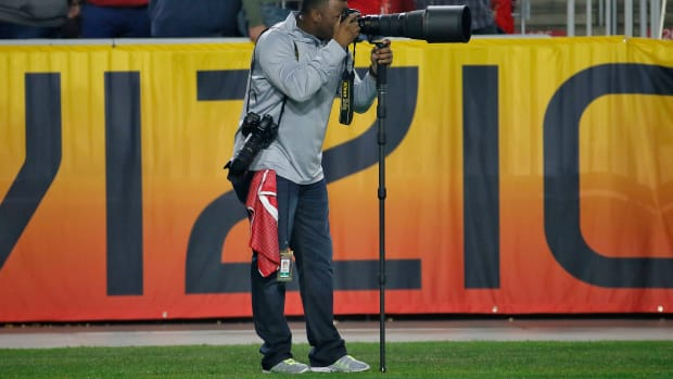 griffey photographs arizona game