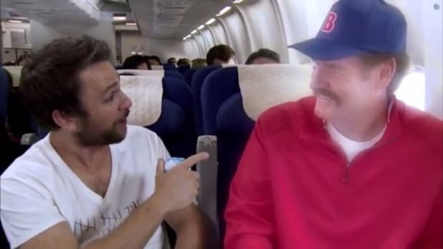 Wade Boggs told Charlie day he actually drank 107 beers in one day