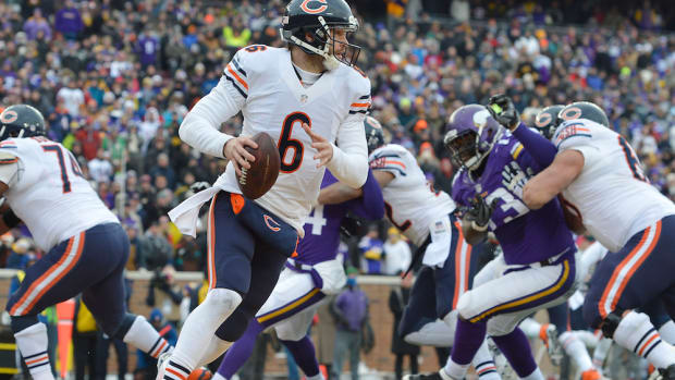 jay cutler chicago bears quarterback competition