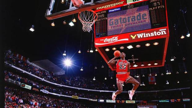 Michael Jordan Walter Iooss dunk contest 1988 960x540