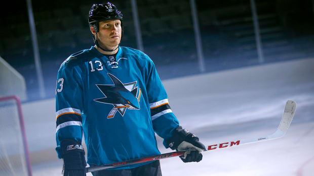 Sharks forward Raffi Torres suspended 41 games for hit--IMAGE