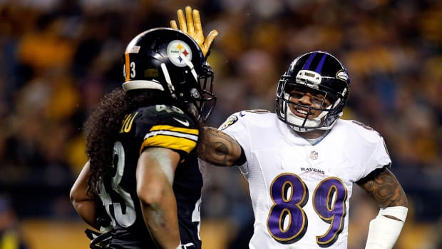 Ravens put away Steelers on the road IMG