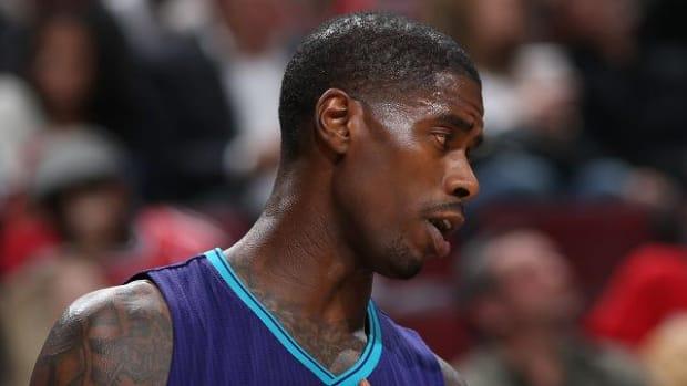 Hornets' Marvin Williams fined $15,000 for foul on Amundson IMAGE