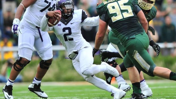 Revenge is on TCU's mind as it looks to erase the lingering memory of last year's 61–58 loss to Baylor