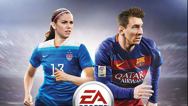 Alex Morgan first female athlete featured on regional FIFA cover--IMAGE