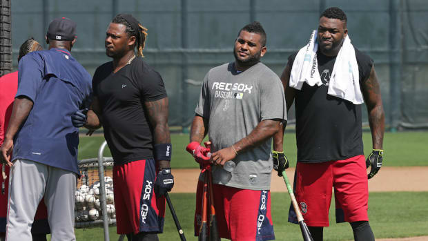 david ortiz pablo sandoval boston red sox