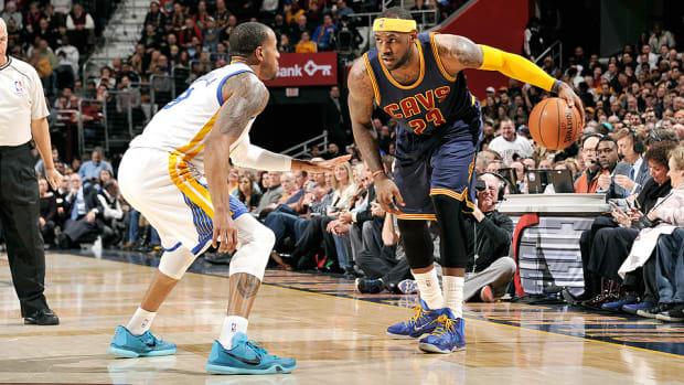 LeBron James Cavaliers Warriors 960