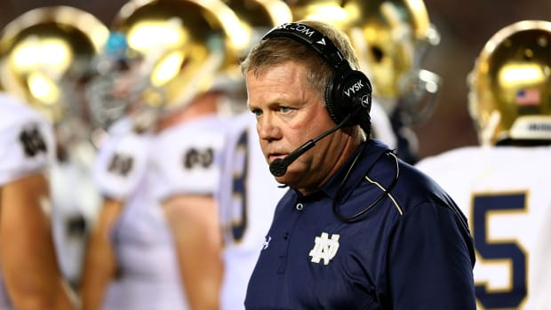 Notre Dame's Brian Kelly: All of my players are 'at-risk' academically