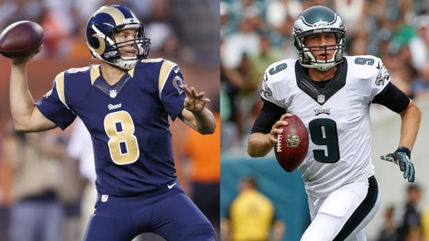 Who is getting the better QB in Bradford-Foles trade? IMG
