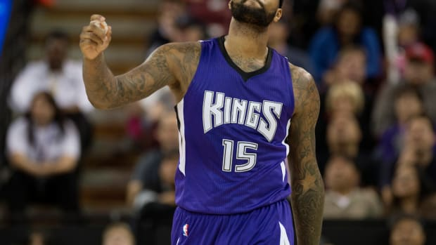 Sacramento Kings center DeMarcus Cousins was angry enough to kick a chair hard during Wednesday's game against the Memphis Grizzlies.  Cousins was whistled for his third foul at the 3:09 mark in the second quarter. After heading to the bench, he kicked th