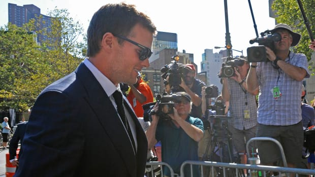 No settlement reached between Brady, Goodell in Deflategate hearing--IMAGE