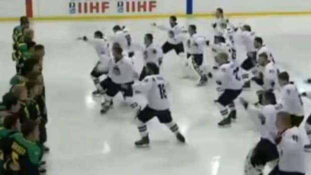 new zealand hockey team haka dance