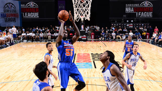 Former college players proving they're the real deal at NBA Summer League IMAGE