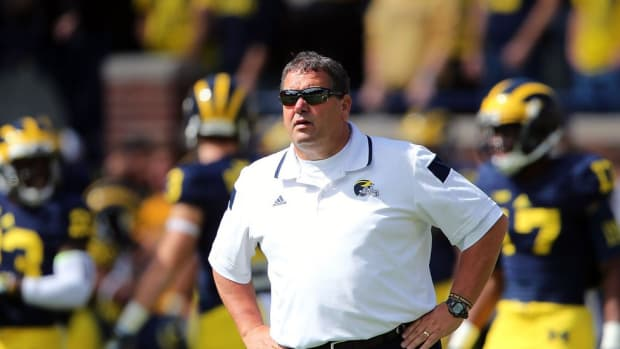 Former Michigan coach Brady Hoke opens up about Wolverines, punt, Harbaugh, coaching future, more
