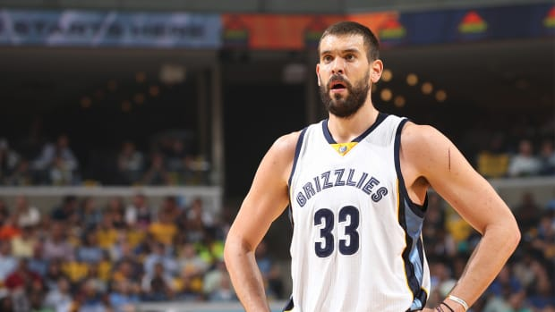 Report: Marc Gasol to re-sign with Grizzlies IMAGE