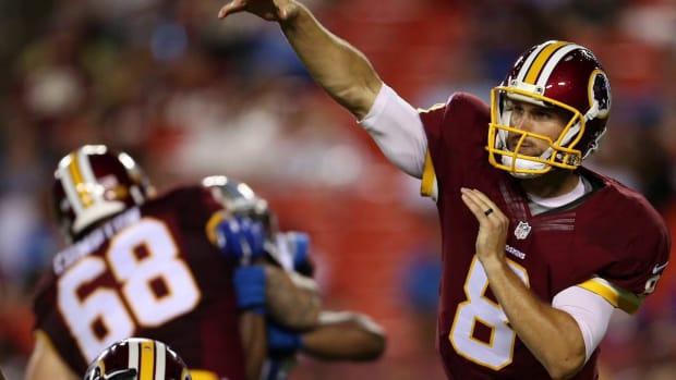Report: Kirk Cousins named Redskins' Week 1 starting QB IMAGE