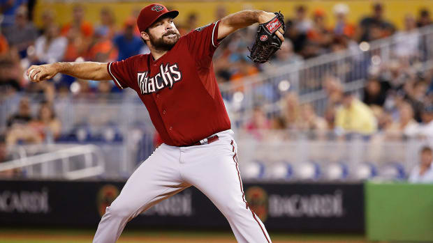 Diamondbacks manager Chip Hale on his unlikely Opening Day starter Josh Collmenter - Image