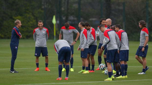 Jurgen Klinsmann USA Training