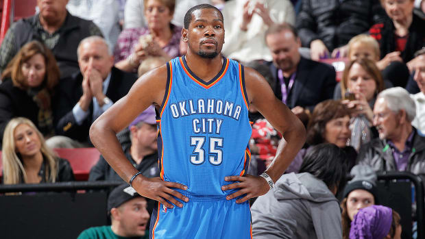 Should Kevin Durant be satisfied with the Thunder's trade deadline moves? - Iamge