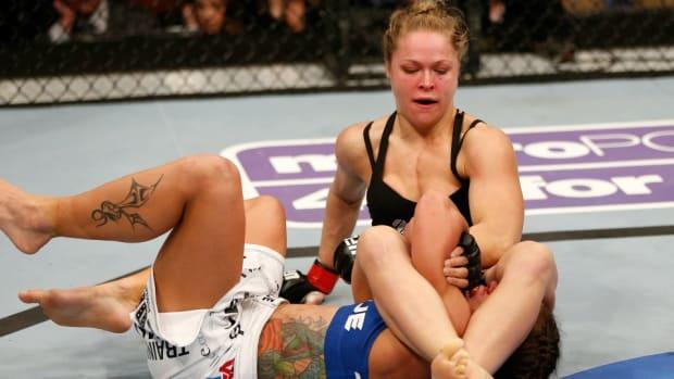 Ronda Rousey: Armbar feels 'Like taking a leg off a turkey'
