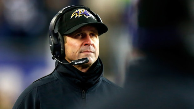 ravens coaches john harbaugh pro bowl