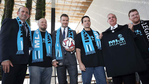 David Beckham: We're 'close to announcing' news about MLS in Miami