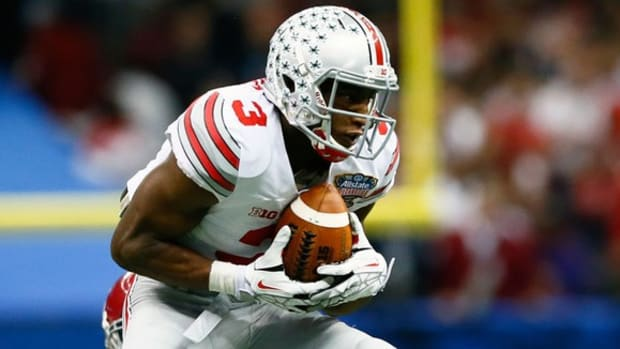 Ohio State's Michael Thomas playing like famous uncle; Florida's Jim McElwain dishes