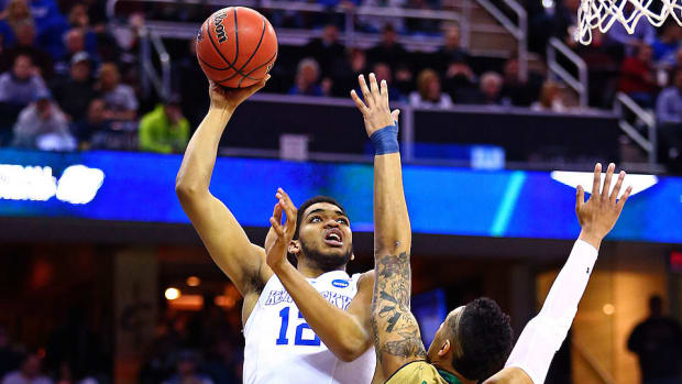 Karl-Anthony Towns Kentucky Notre Dame NCAA tournament