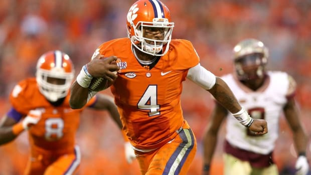 Prep star, playoff QB, pro prospect: An early read on how Clemson's Deshaun Watson is viewed by the NFL