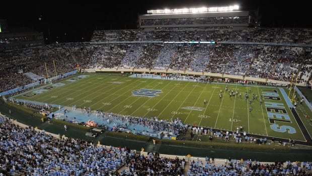 unc wake forest football home and home series