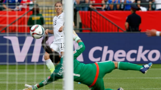 USA beats Colombia, advances to World Cup quarterfinals IMAGE