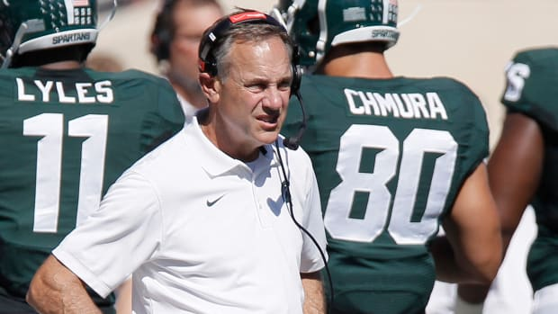 #DearAndy: Is Mark Dantonio tired of all the Harbaugh questions? IMAGE