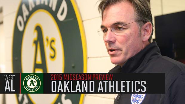 Oakland Athletics 2015 midseason preview IMAGE