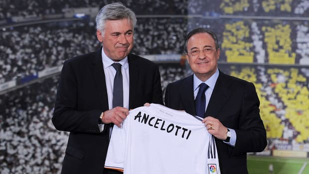 Real Madrid president Pérez: Carlo Ancelotti will not be fired