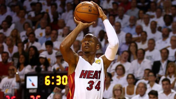 Ray Allen find the best