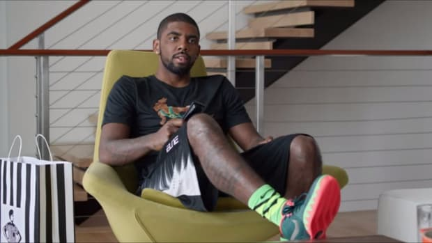 Kyrie Irving took on a very difficult acting role in new Foot Locker ad