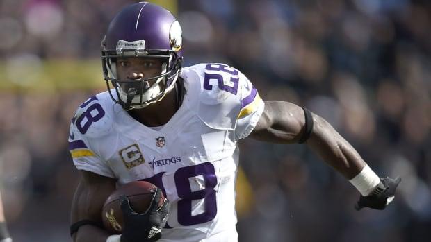 Peterson's 203-yard game puts him into MVP conversation IMAGE