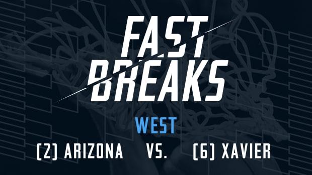 Arizona Wildcats vs. Xavier Musketeers Sweet 16 - image