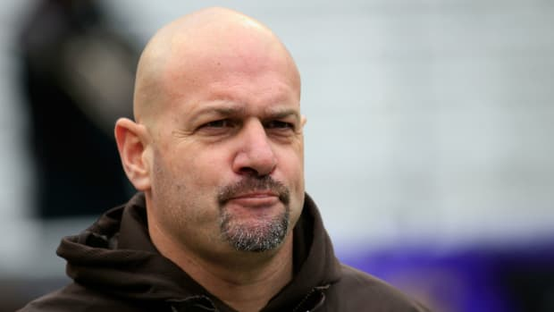 Browns coach Mike Pettine