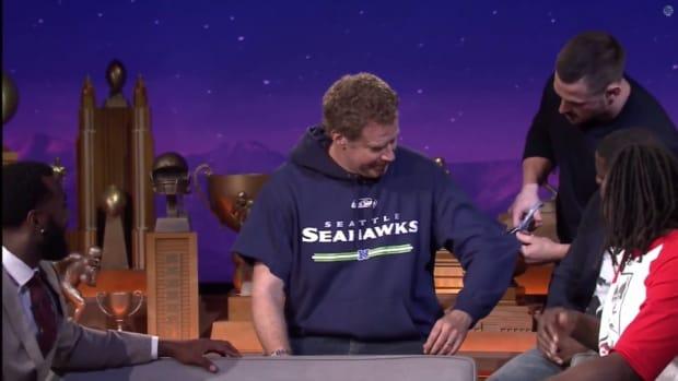 Patriots, Will Ferrell, Kevin Hart appear on Jimmy Fallon Super Bowl show