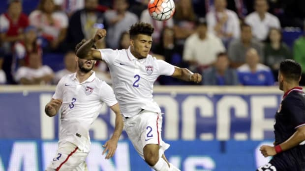 U.S. loses to Costa Rica in final friendly before World Cup qualifying begins -- IMAGE