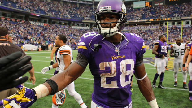 MMQB Extra: Peterson will thrive under Turner's offense IMAGE