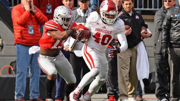 Indiana DB Antonio Allen arrested on drug dealing charges