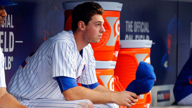 Mets rookie Steven Matz out at least three weeks with torn lat muscle IMAGE